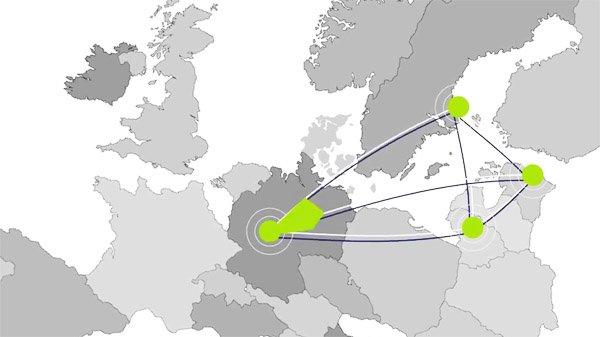 SoMu Programme Universities VDU - Sweden map universities