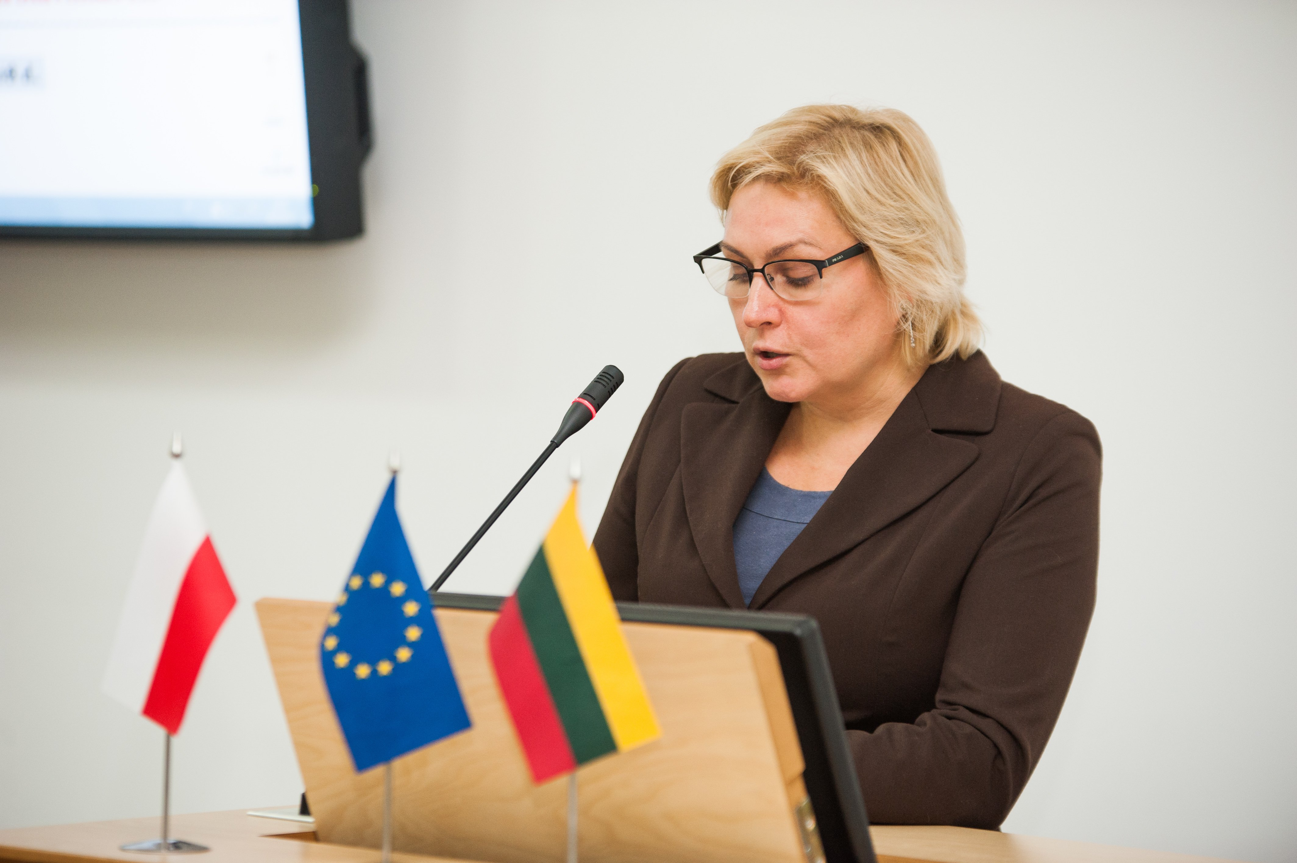 VDU lankysis Lenkijos instituto Vilniuje direktorius
