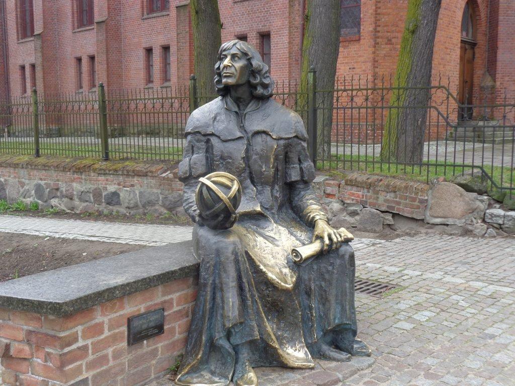 Das Denkmal für Nikolaus Kopernikus
