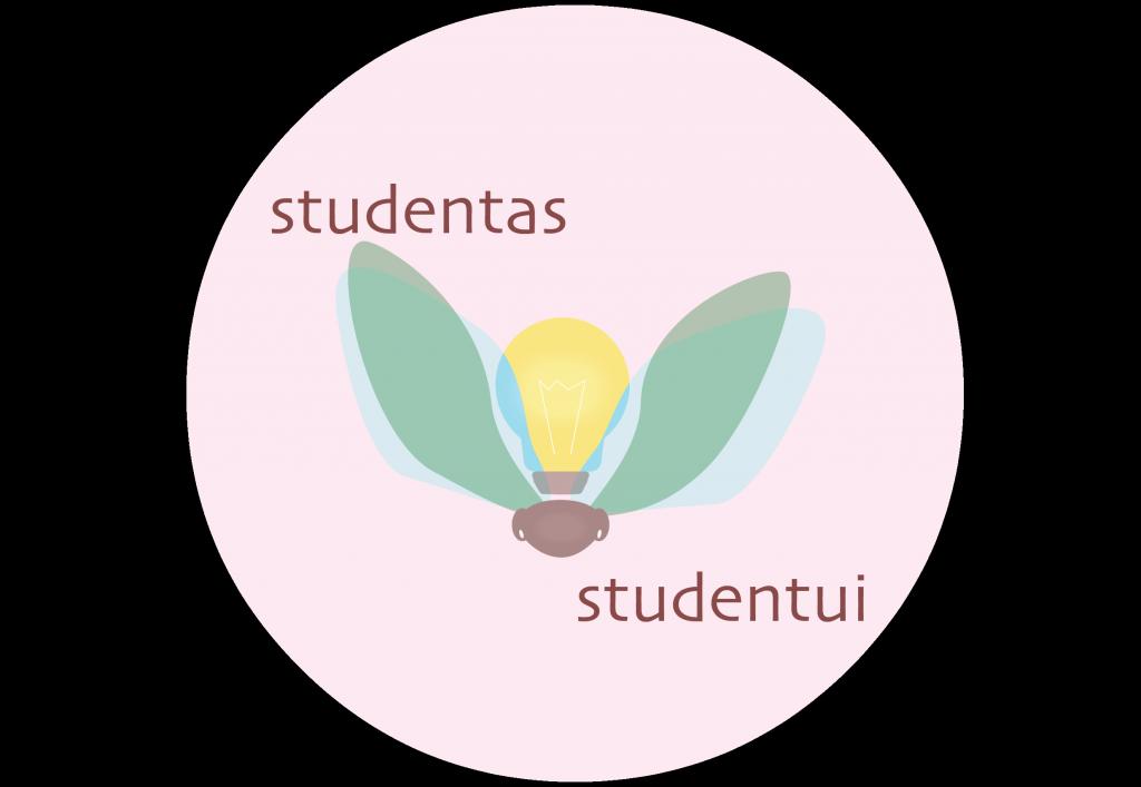 Studentas studentui
