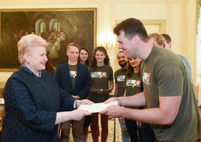 Misija Sibiras komanda prezidentūroje. Simonas Jazavita