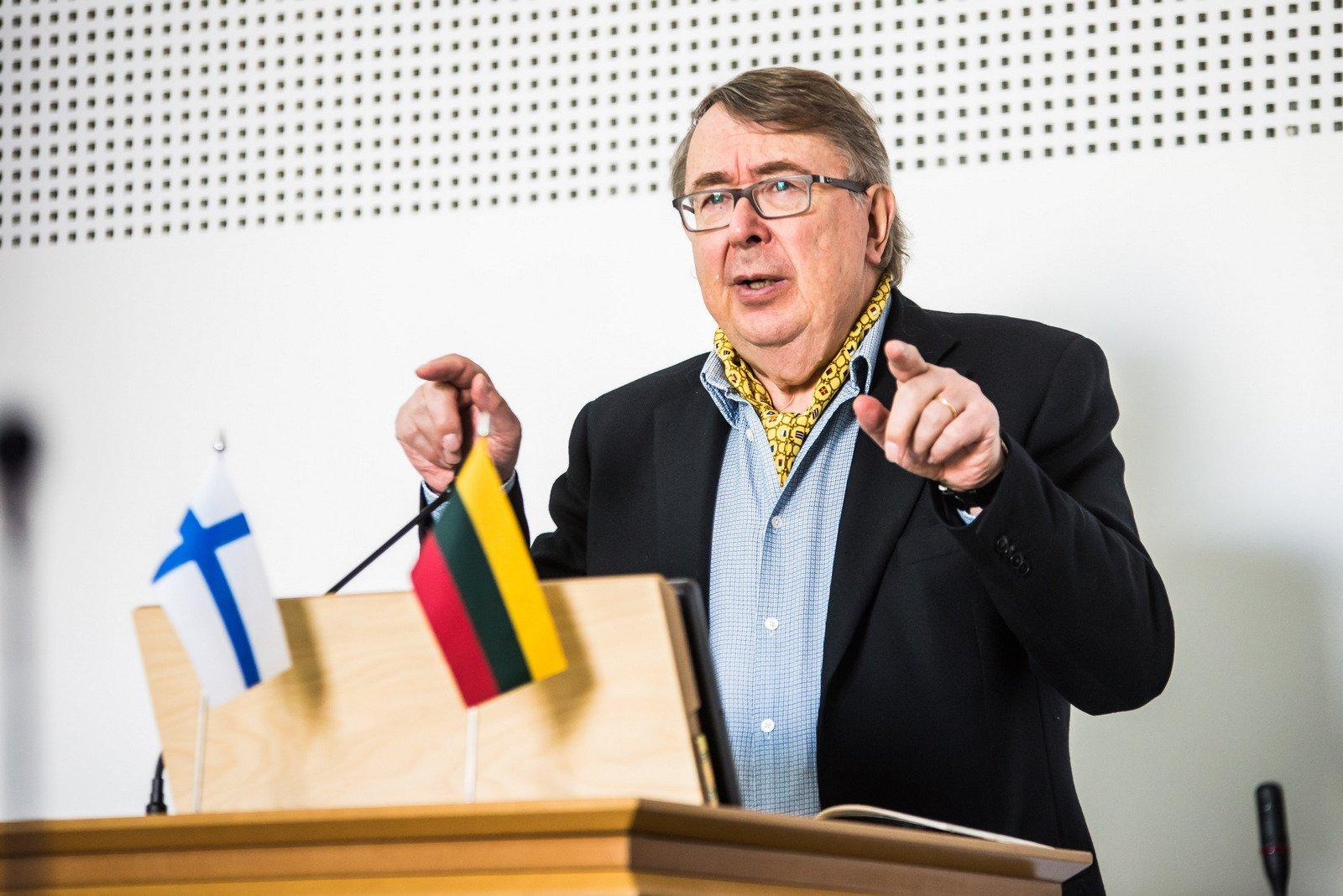 Suomių profesoriai: pertvarkai nereikia revoliucijos | VDU